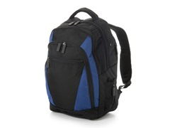 Sports Voyage Backpack - Black & Blue