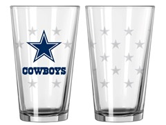 Cowboys Pint Glass 2-Pack