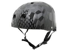 Krash Cube Hurt Black SK8 Helmet, 8+ Yrs