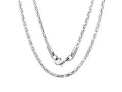 Stainless Steel Round Necklace Chain
