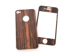 Mootoe Wood Cover for iPhone 4/4S - Ebony