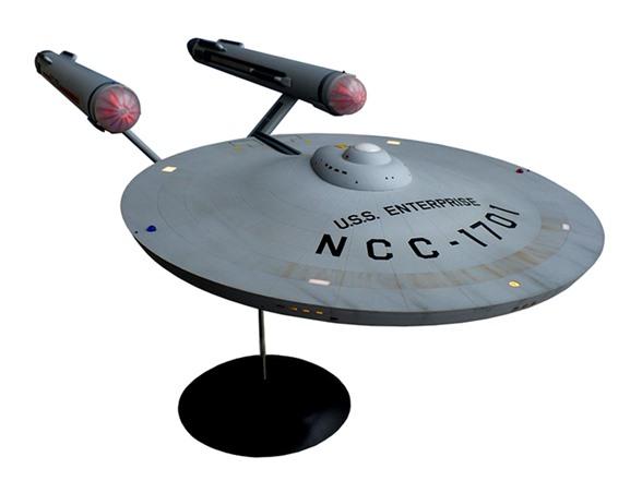 1:350th Scale TOS Enterprise NCC-1701