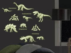 Dinosaurs Glow Wall Decals