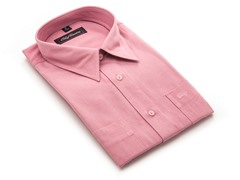 Oleg Cassini Men's Dress Shirt, Rose