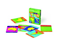 GeoCards World Card Game