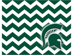 Michigan State  -  Chevron
