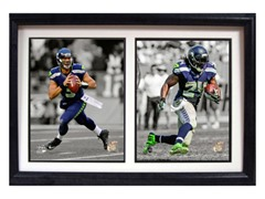 Double Frame - Seahawks Dynamic Duo