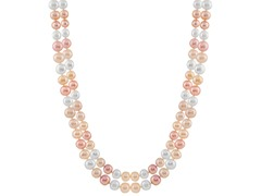 Endlesss Multicolored Pearl Necklace
