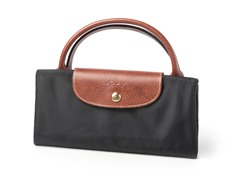 Longchamp Le Pliage Travel Bag, Black