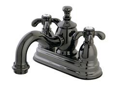 Lavatory Faucet w/ Pop-up, Black Nickel