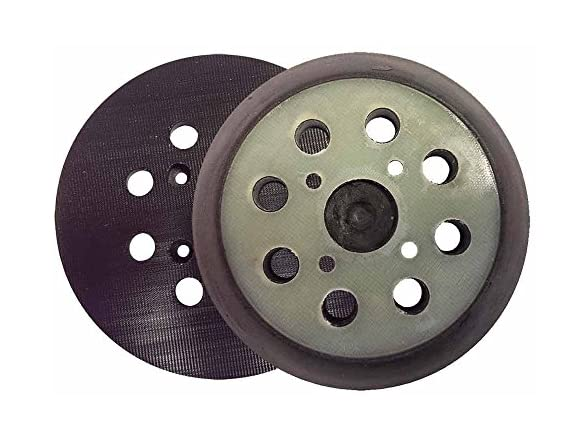 Superior Pads and Abrasives RSP26 5 Inch Dia 8 Hole Sander Hook and Loop Pad Replaces Dewalt OE # 151281-08 4 Per Pack