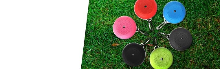 Mini Bluetooth Speakers - 2 Pack