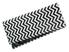 Chevron Table Runner-Black