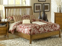 City II Rake Bed in Pecan (2 Sizes)
