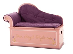 Princess Fainting Couch with Storage