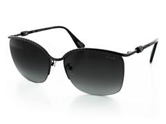 Women's Square Rimless Sunglasses