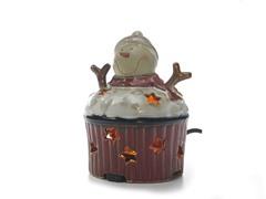 Scenterrific Warmer - Snowman Cupcake