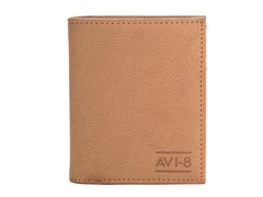 AVI-8 Wallet, Beige