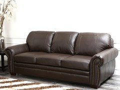 Karoza Leather Sofa