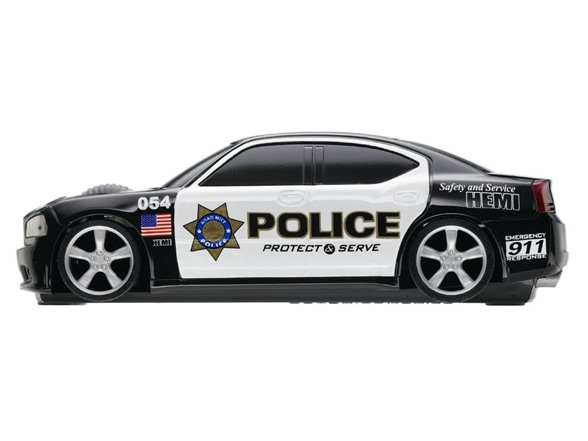 Road Mice Dodge Charger Police Mouse