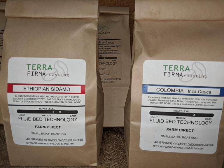 Terra Firma Roasters Whole Bean, 2 Pack