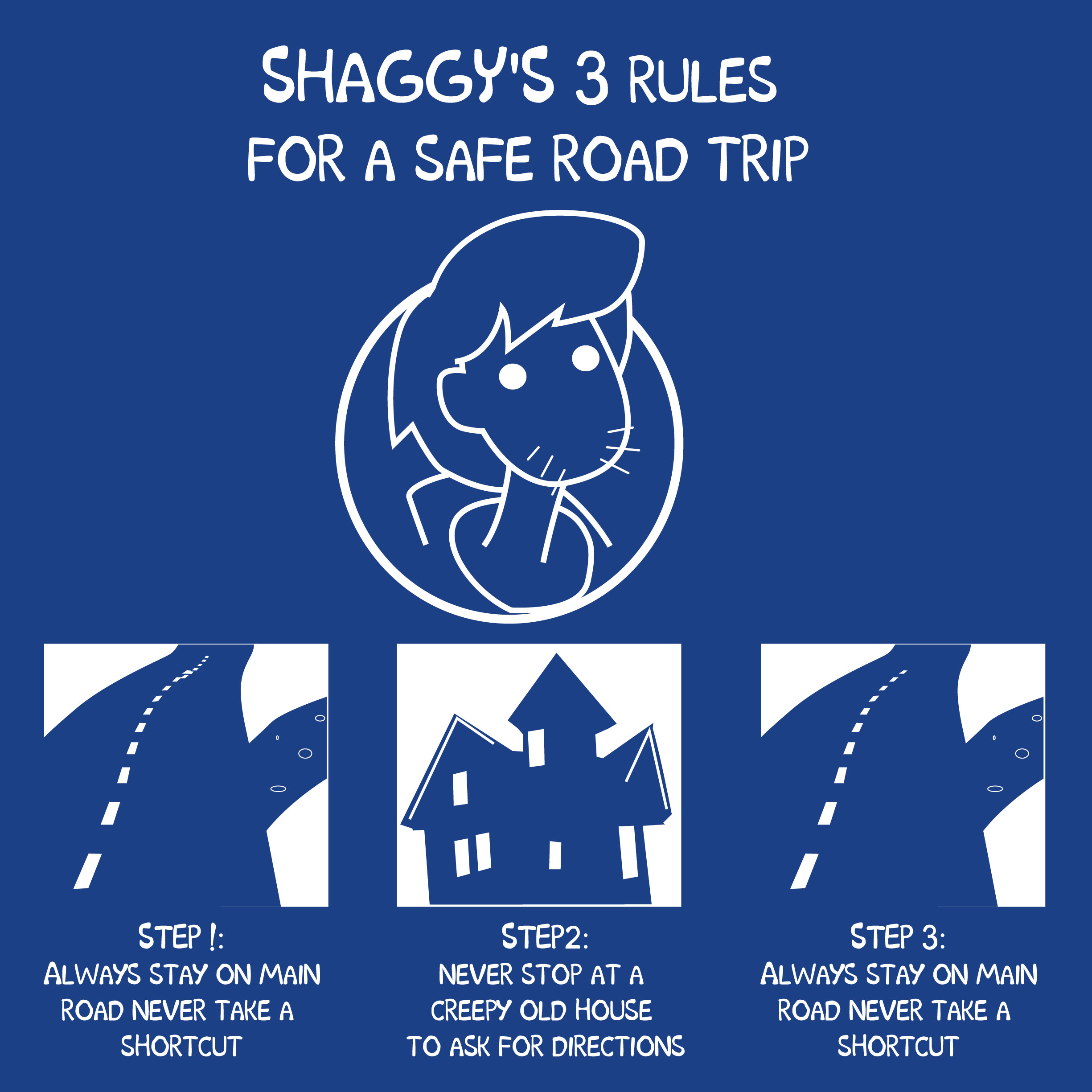 Shaggy Safe Trip Rules