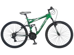"Mongoose Men's 26"" Green Maxim Bike"