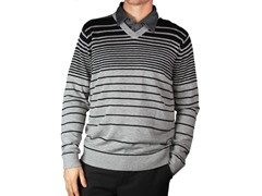 Lompoc Sweater - Light Grey