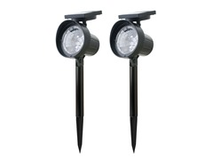 2-Piece Cargo Solar Spotlight Set
