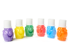 Bubbly Finger Paints - 6 Count