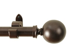 "52"" - 144"" Ball Curtain Rod"