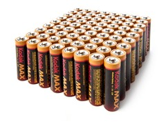 Kodak AA Alkaline Batteries - 72 Pack