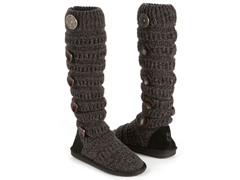 MUK LUKS® Marled Texture Stripe Boot