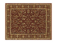 Izmir Collection Rug Red