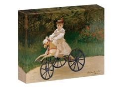 Monet Jean Monet on his Hobby Horse, 1872 (2 Sizes)