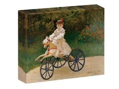 Monet Jean Monet on his Hobby Horse, 1872 (2 Sizes)