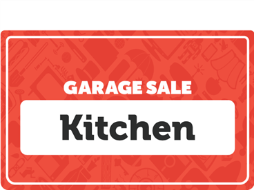 Kitchen Garage Sale