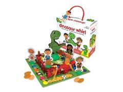 Chimp & Zee Dinosaur Whirl Game
