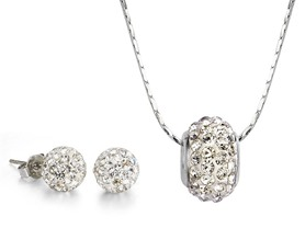 Mestige Meridian Necklace and Earring Set