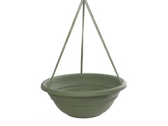 Hanging Planter, 17-Inch, Living Green