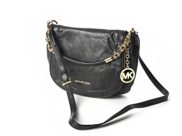 Michael Kors Stanthorpe Medium Convertible Shoulder Bag Black 109