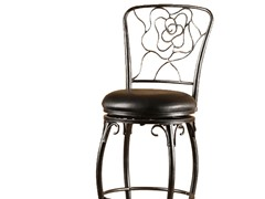 "Hillsdale Rose  24"" Counter Stool"