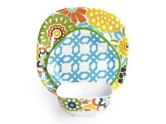 Confetti Button Blooms 12-Piece Dinnerware Set