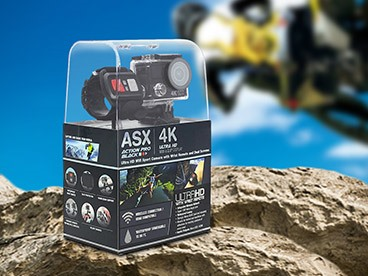 ActionPro 4K UHD WiFi Sports Cam Bundle