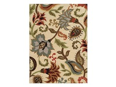 Floral Ivory Rug (3-Sizes)