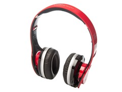 MiiRhythm Bluetooth Headphones - Red