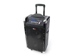 QFX BT PA Speaker w/Guitar Input & Mic