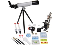 Microscope & Telescope with Survival Kit