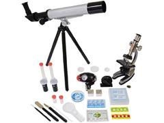 Microscope & Telescope with Survival Kit