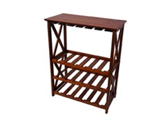 Montego X Wine Rack- Walnut